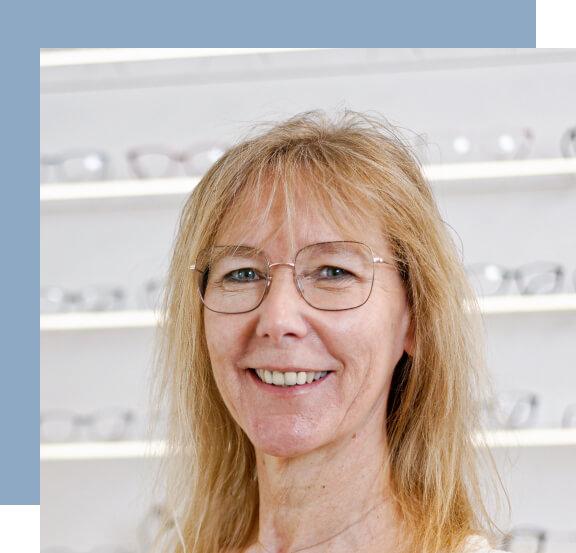 Norma Thiel Porträt im Laden von Weitblick
